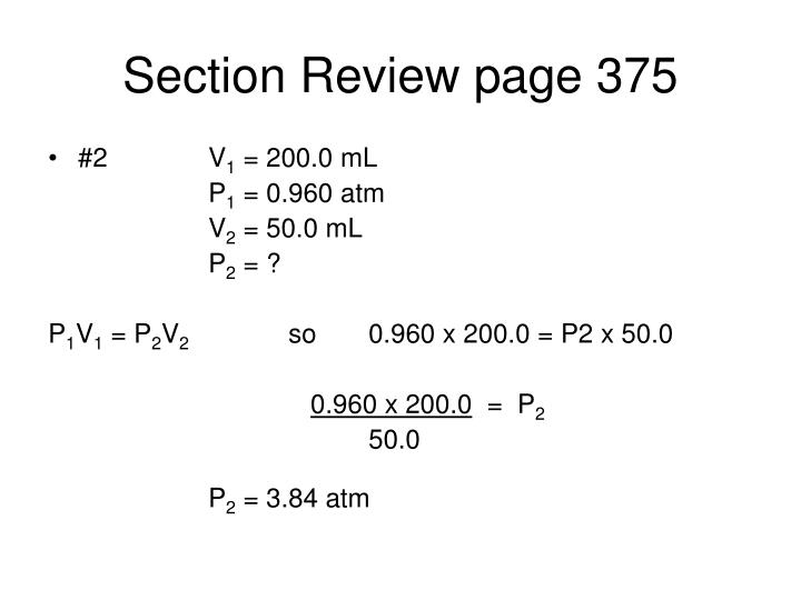 Section Review page 375