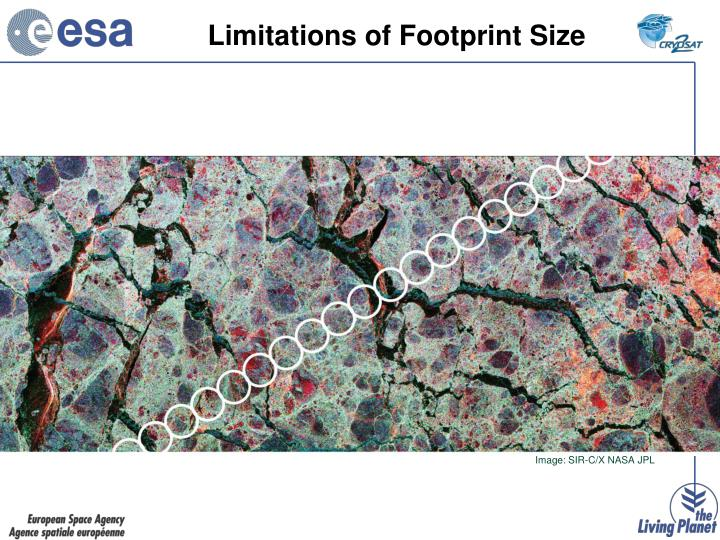 Limitations of Footprint Size