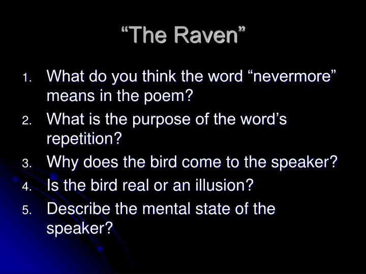"""The Raven"""