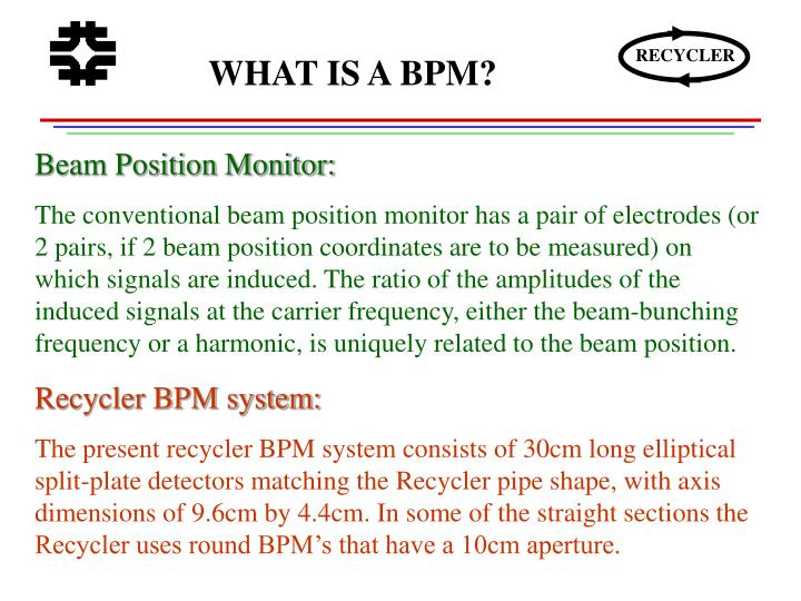 WHAT IS A BPM?