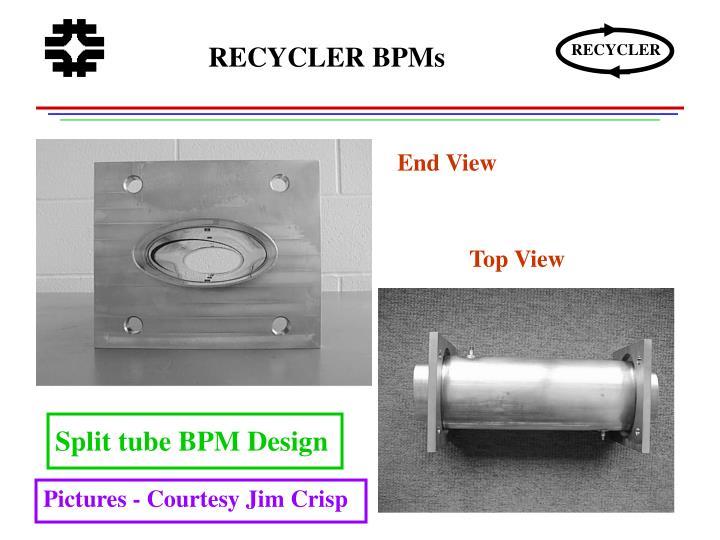 RECYCLER BPMs