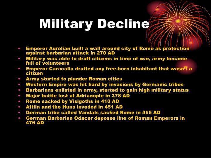 Military Decline