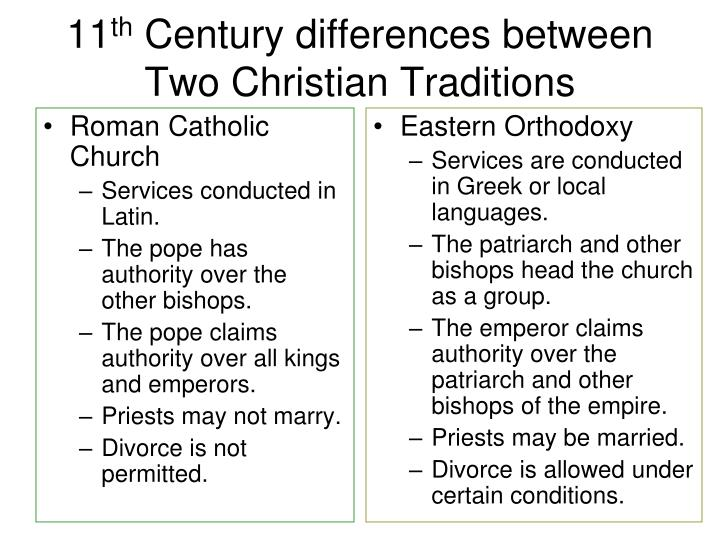 difference of christianity between two periods Buddhism is a nontheistic religion, ie, it does not believe in a supreme creator being aka god christianity is a monotheistic religion and believes that christ is the son of god buddhism is an offshoot of hinduism and is a dharmic religion christianity is an offshoot of judaism and is an abrahamic religion.