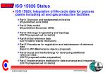 iso 15926 status