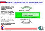 product data description inconsistencies1