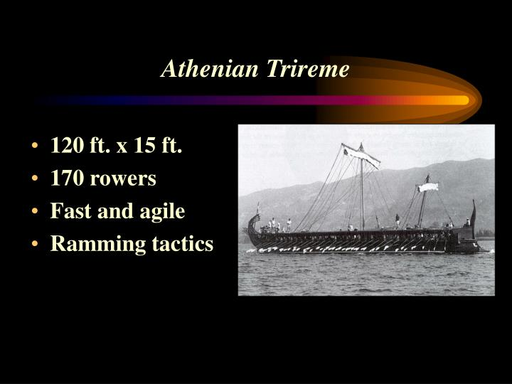 Athenian Trireme