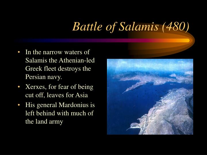 Battle of Salamis (480)