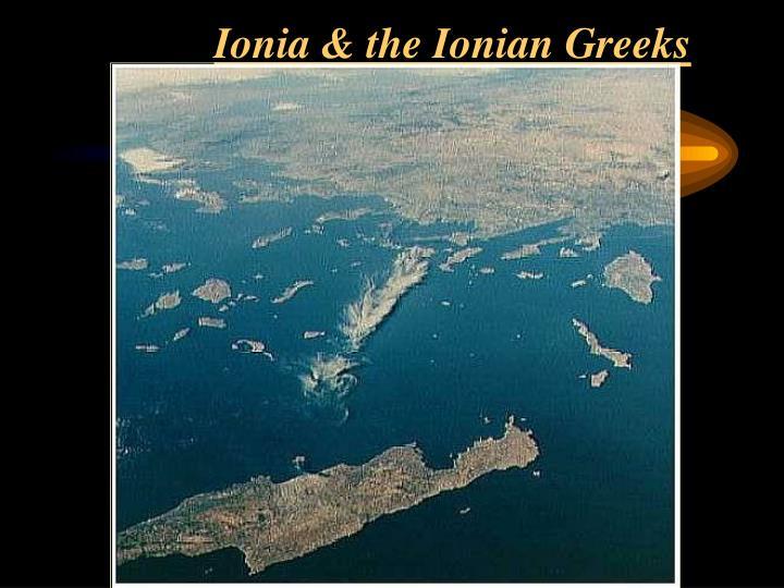 Ionia & the Ionian Greeks