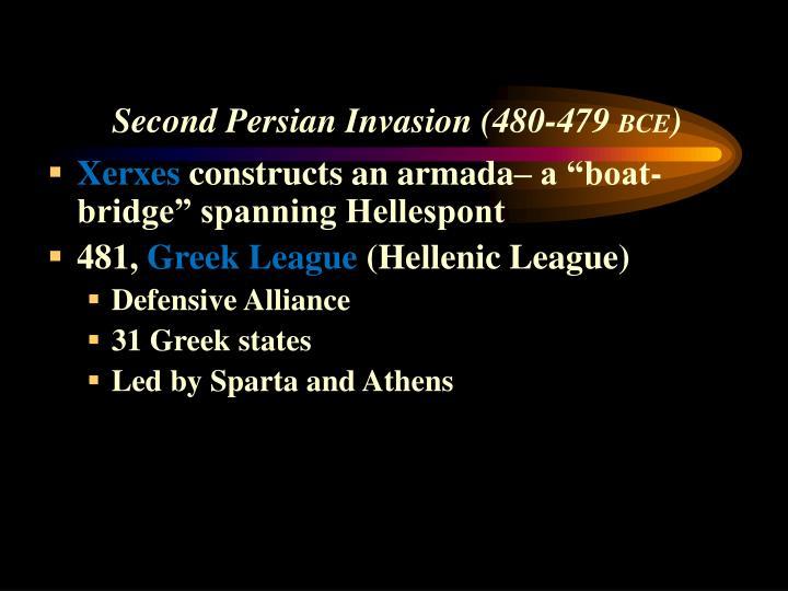 Second Persian Invasion (480-479