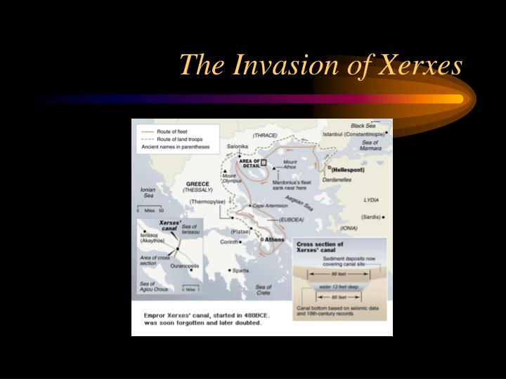 The Invasion of Xerxes