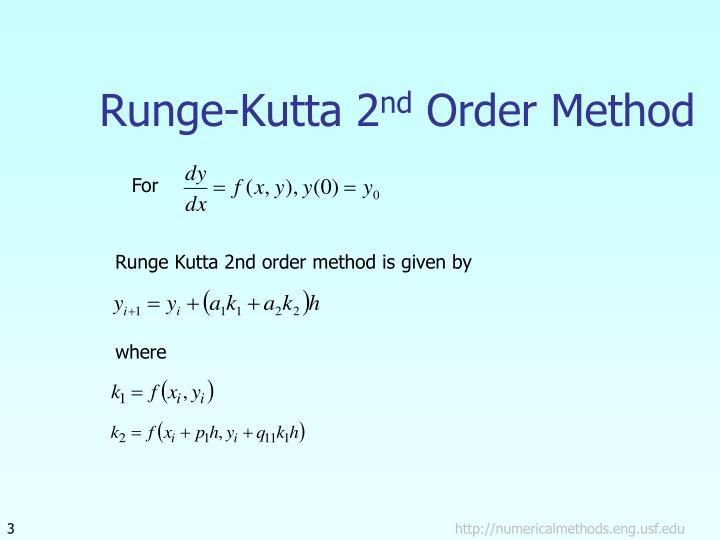 Runge-Kutta 2