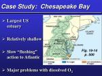 case study chesapeake bay