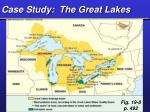 case study the great lakes