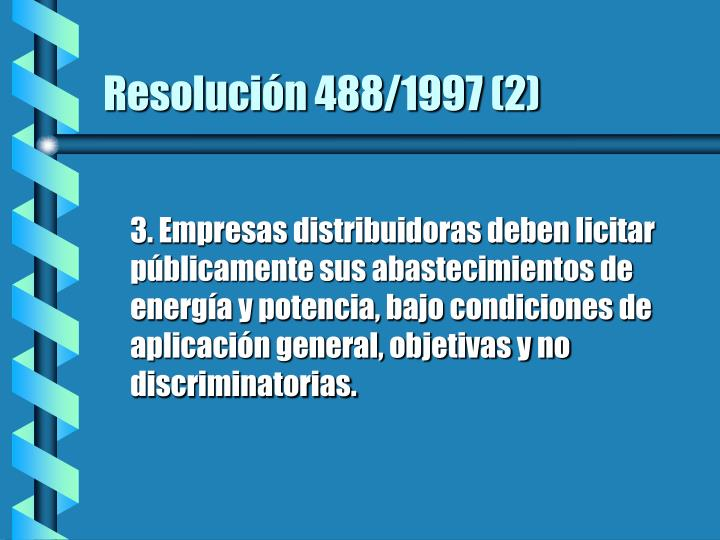 Resolución 488/1997 (2)