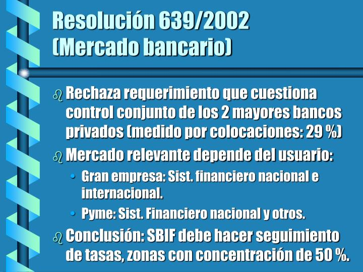 Resolución 639/2002