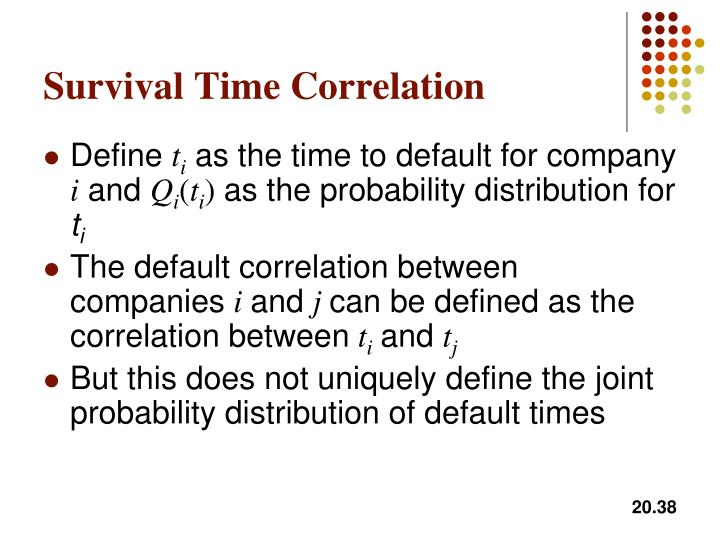 Survival Time Correlation