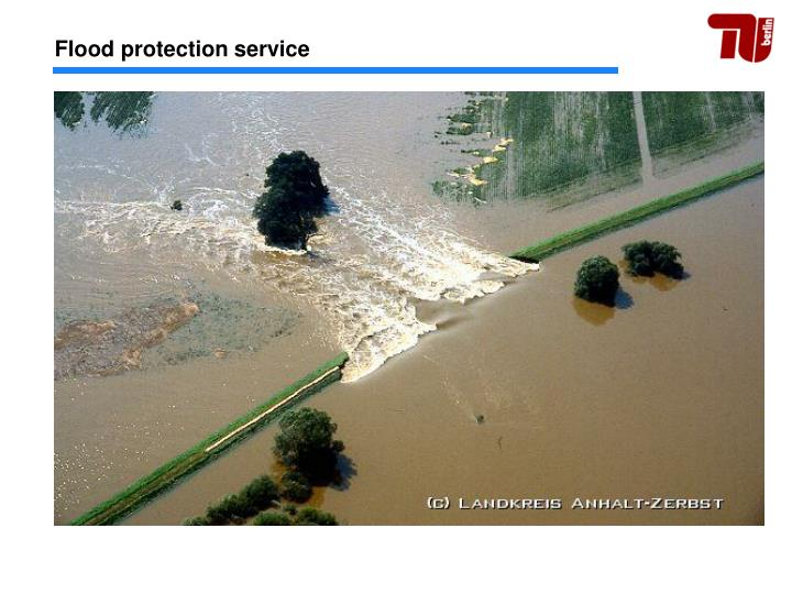 Flood protection service