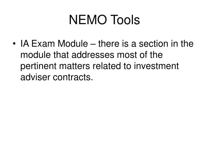 NEMO Tools