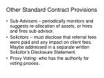 other standard contract provisions2