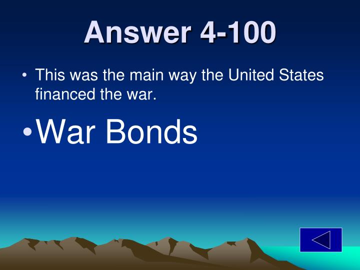 Answer 4-100