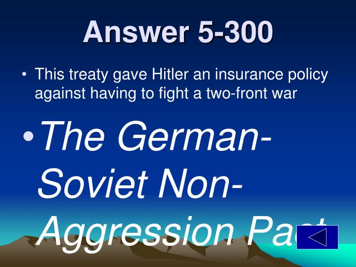 Answer 5-300