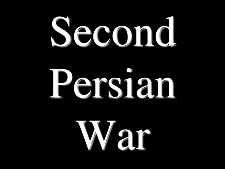 an analysis of 2nd persian invasion The second field review has concluded the focus of the  persians analyze the  documents and determine the greeks' point of view towards the persians and the   father had suffered during the first persian invasion of greece he amassed.