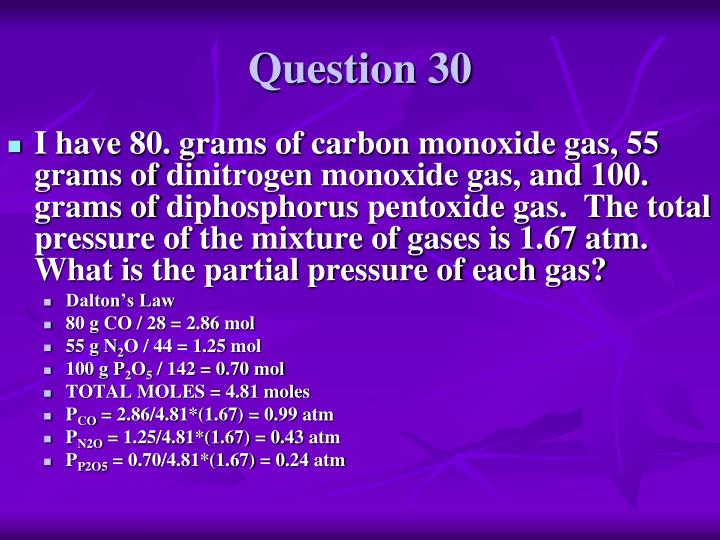 Question 30