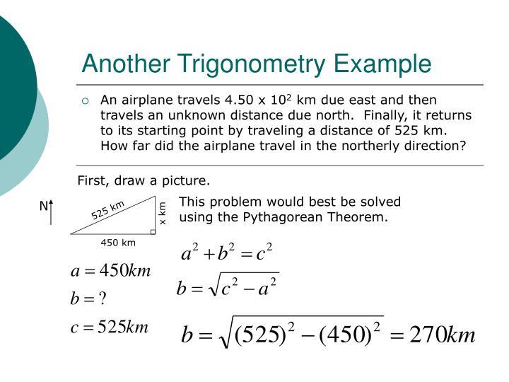 Another Trigonometry Example