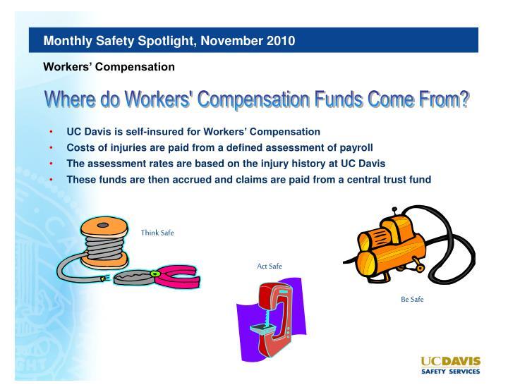 Monthly Safety Spotlight, November 2010