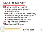 keywords summary