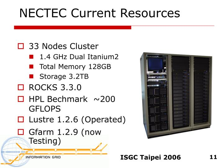 NECTEC Current Resources