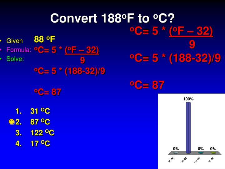Convert 188