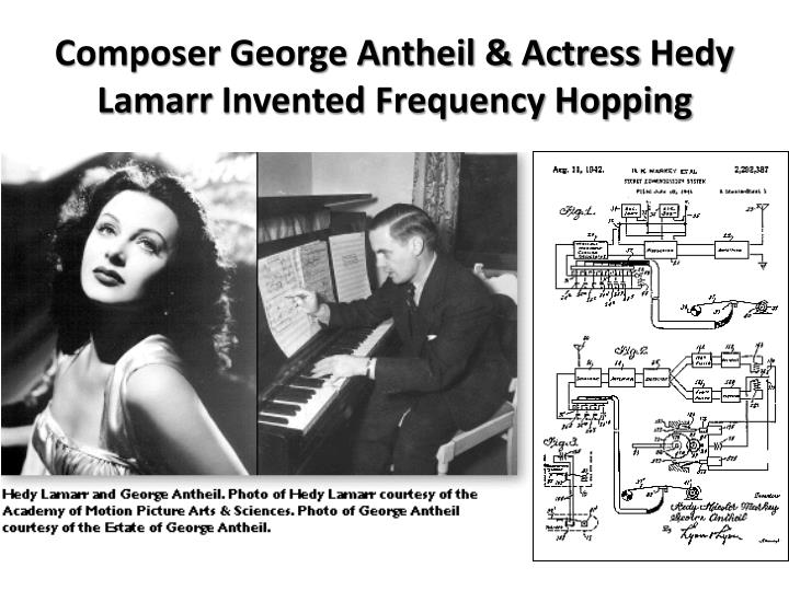Composer George Antheil & Actress