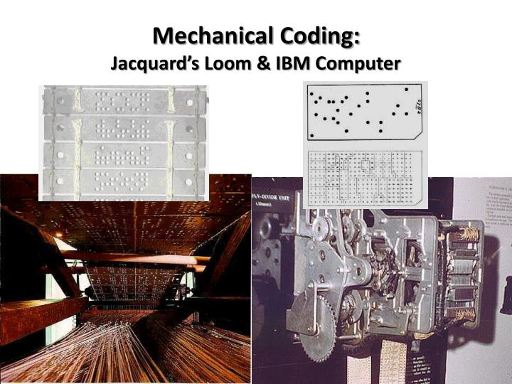 Mechanical Coding: