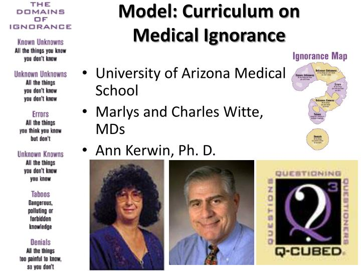 Model: Curriculum on