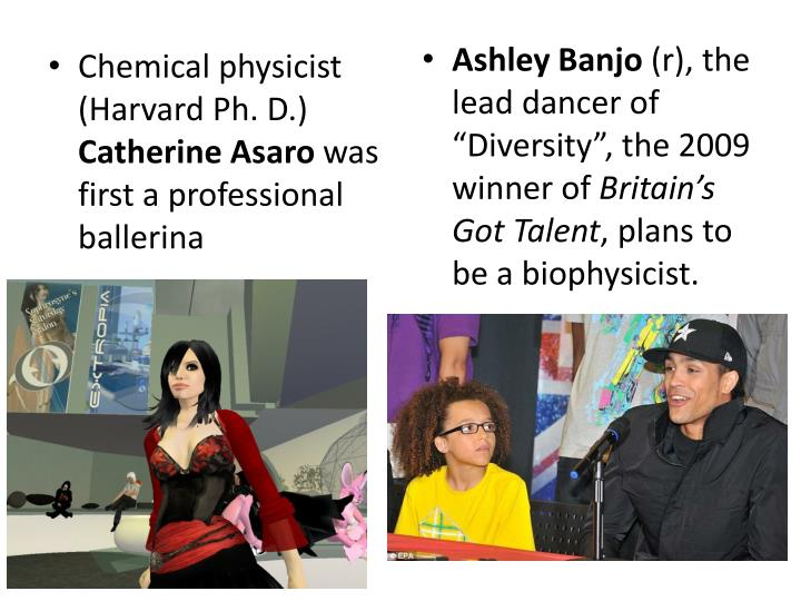 Chemical physicist (Harvard Ph. D.)