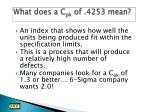 what does a c pk of 4253 mean