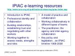 ipiac e learning resources http www scie org uk publications elearning ipiac index asp
