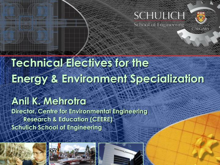 Technical Electives for the