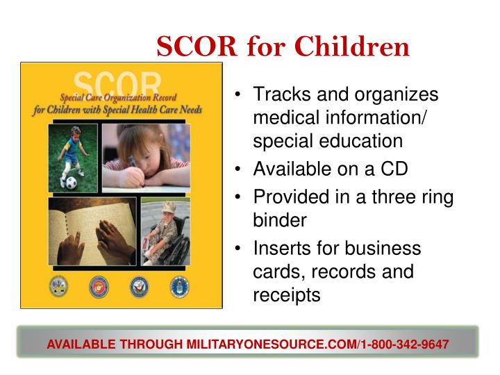 SCOR for Children