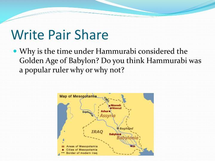Write Pair Share