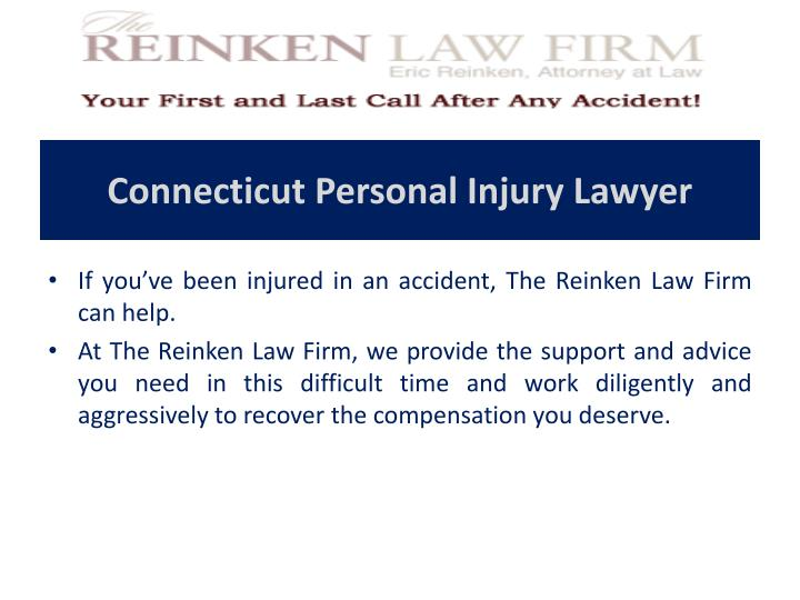 Connecticut Personal Injury Lawyer