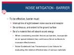 noise mitigation barrier1