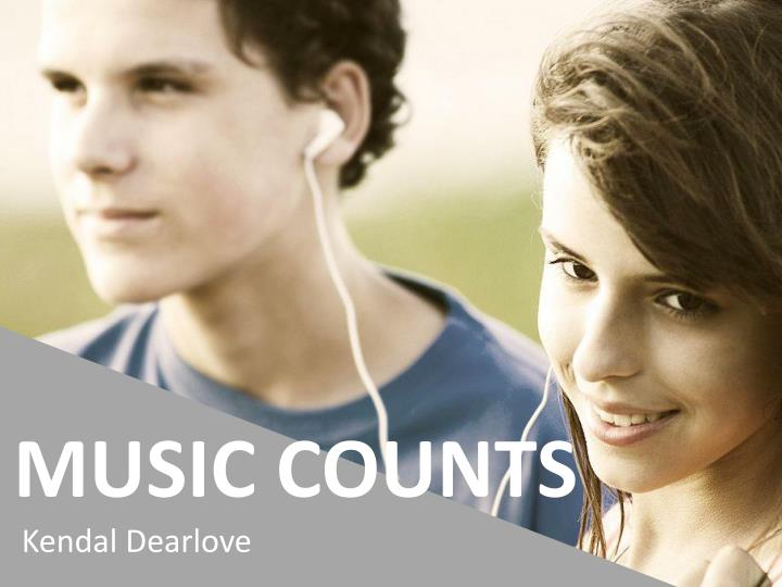 Music counts