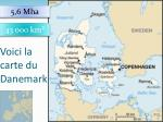 voici la carte du danemark