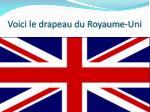 voici le drapeau du royaume uni