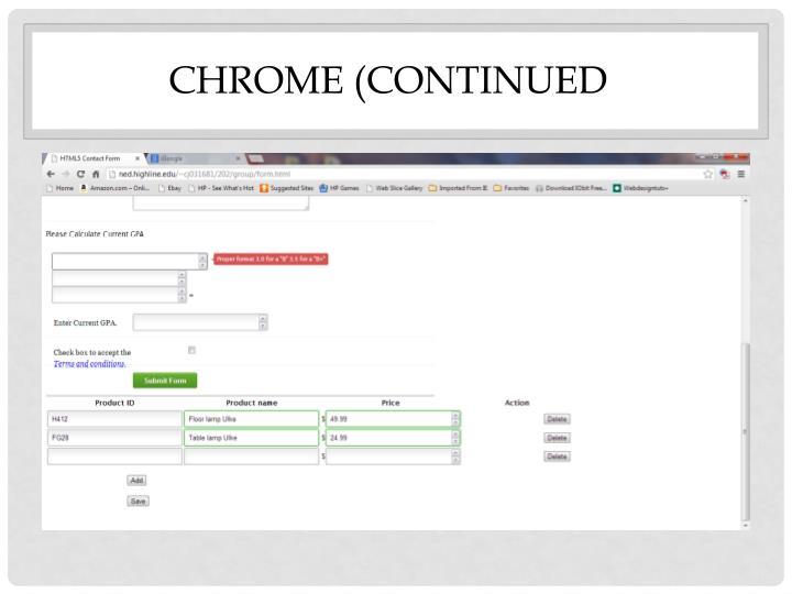 Chrome (
