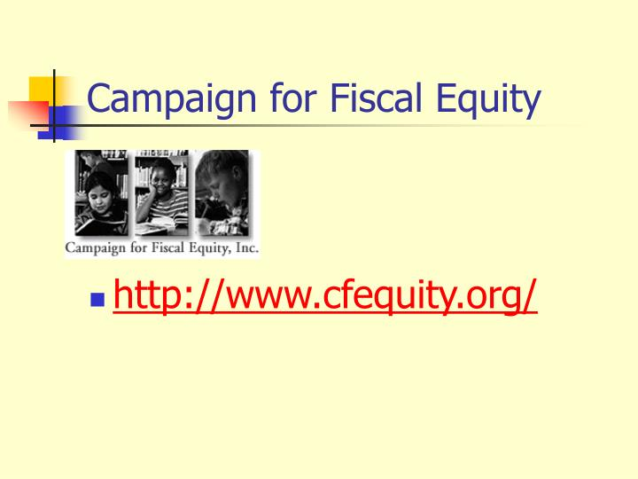 Campaign for Fiscal Equity