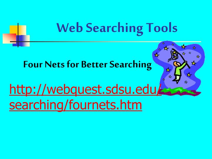 Web Searching Tools