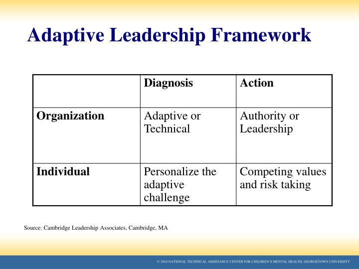 Adaptive Leadership Framework